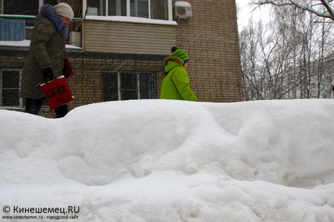 Кинешма в снегу фото 17