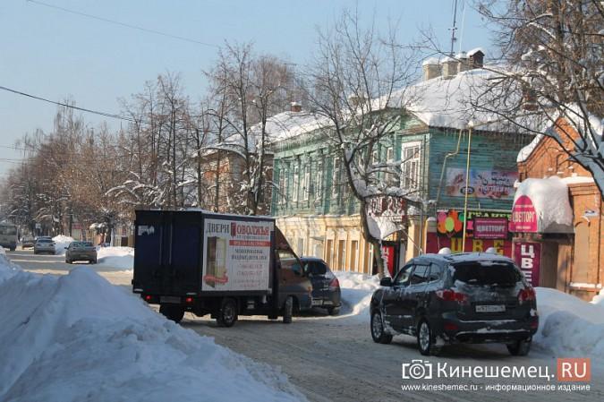 Движение в центре Кинешмы по-прежнему затруднено фото 4