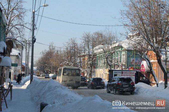 Движение в центре Кинешмы по-прежнему затруднено фото 3