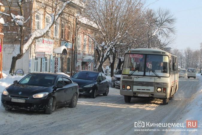Движение в центре Кинешмы по-прежнему затруднено фото 13