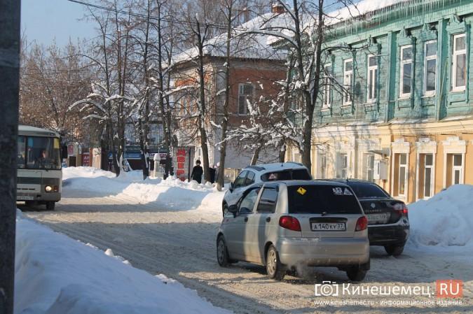 Движение в центре Кинешмы по-прежнему затруднено фото 9