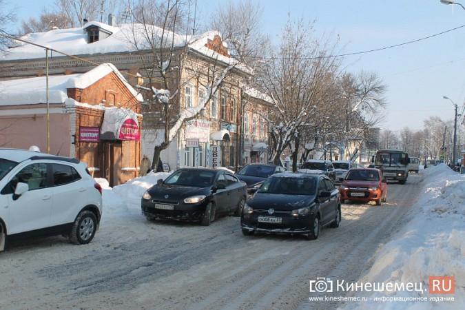 Движение в центре Кинешмы по-прежнему затруднено фото 12