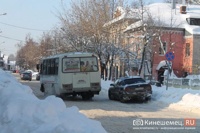 Движение в центре Кинешмы по-прежнему затруднено фото 2