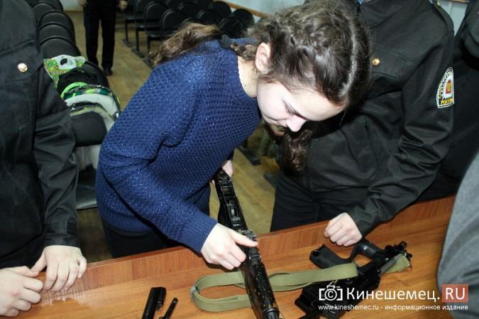 Кинешемские полицейские встретились с кадетами фото 20