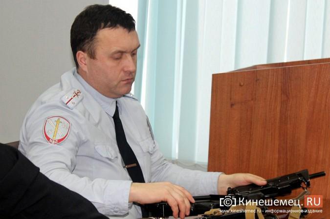 Кинешемские полицейские встретились с кадетами фото 7