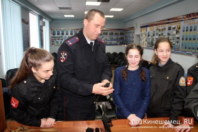 Кинешемские полицейские встретились с кадетами фото 17