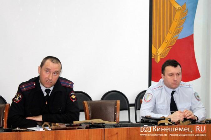 Кинешемские полицейские встретились с кадетами фото 5