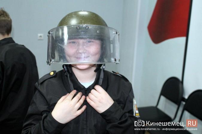 Кинешемские полицейские встретились с кадетами фото 19