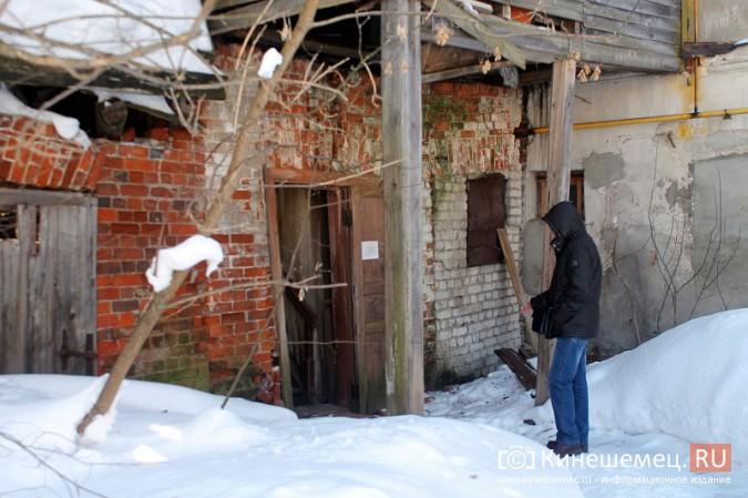На улице Карла Маркса в центре Кинешмы на глазах разрушается жилой дом фото 6