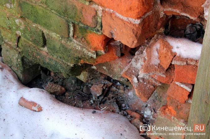 На улице Карла Маркса в центре Кинешмы на глазах разрушается жилой дом фото 9