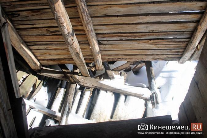 На улице Карла Маркса в центре Кинешмы на глазах разрушается жилой дом фото 16