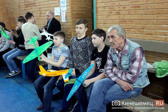 В Кинешме прошли соревнования по запуску авиамоделей памяти летчика Алексея Сорнева фото 4