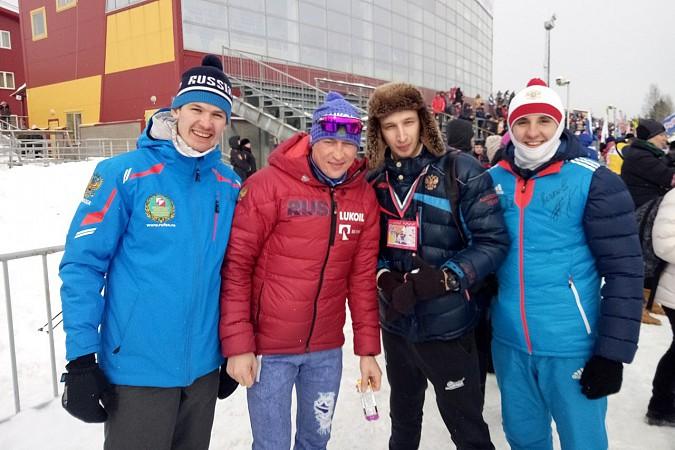 Кинешемские лыжники соревновались с Олимпийскими чемпионами на Деминском марафоне фото 4