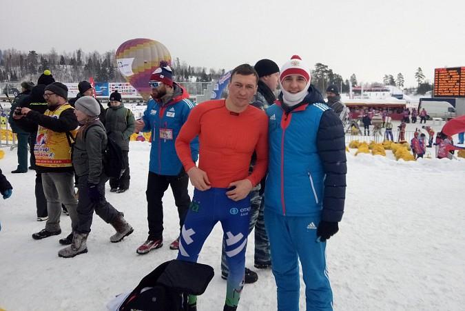 Кинешемские лыжники соревновались с Олимпийскими чемпионами на Деминском марафоне фото 5