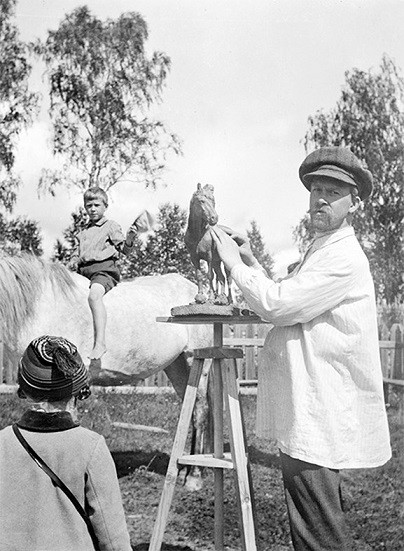 Кинешемцам покажут уникальные фотографии из семейного архива художника Бориса Кустодиева фото 3