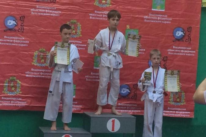 Кинешемские каратисты завоевали 15 медалей на первенстве Владимирской области фото 29