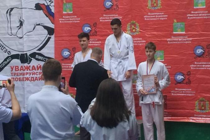 Кинешемские каратисты завоевали 15 медалей на первенстве Владимирской области фото 6