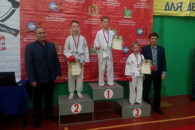 Кинешемские каратисты завоевали 15 медалей на первенстве Владимирской области фото 3
