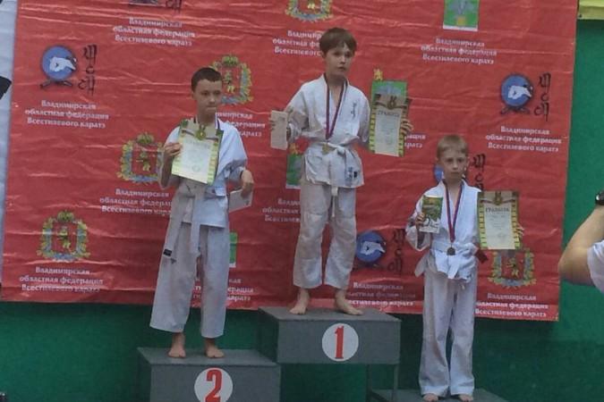 Кинешемские каратисты завоевали 15 медалей на первенстве Владимирской области фото 12