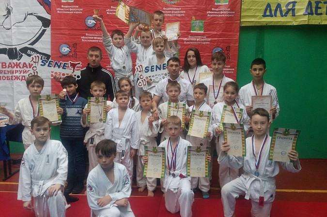 Кинешемские каратисты завоевали 15 медалей на первенстве Владимирской области фото 8
