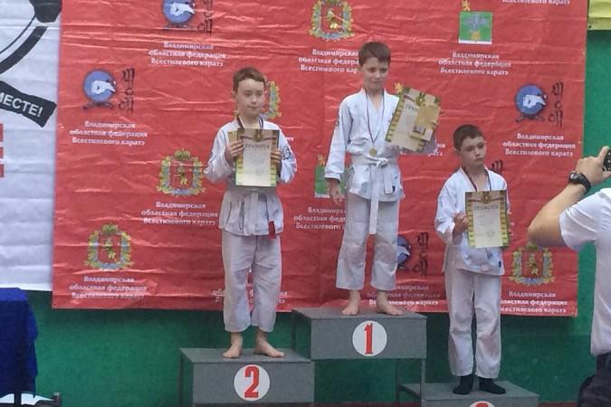 Кинешемские каратисты завоевали 15 медалей на первенстве Владимирской области фото 24
