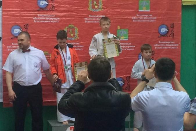 Кинешемские каратисты завоевали 15 медалей на первенстве Владимирской области фото 30