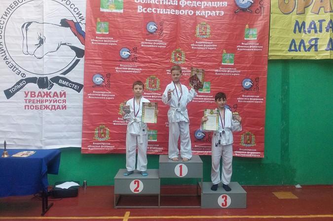 Кинешемские каратисты завоевали 15 медалей на первенстве Владимирской области фото 27