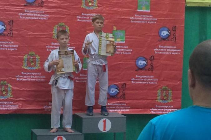 Кинешемские каратисты завоевали 15 медалей на первенстве Владимирской области фото 19