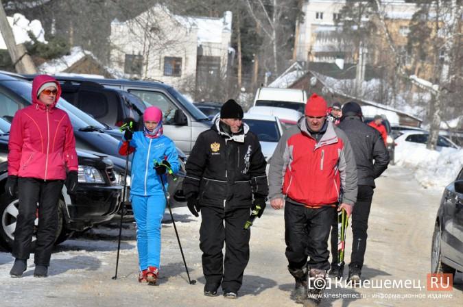 Кинешемские лыжники пробежали «Кохомский марафон» фото 4