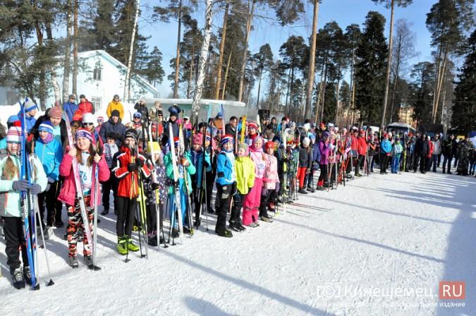Кинешемские лыжники пробежали «Кохомский марафон» фото 9