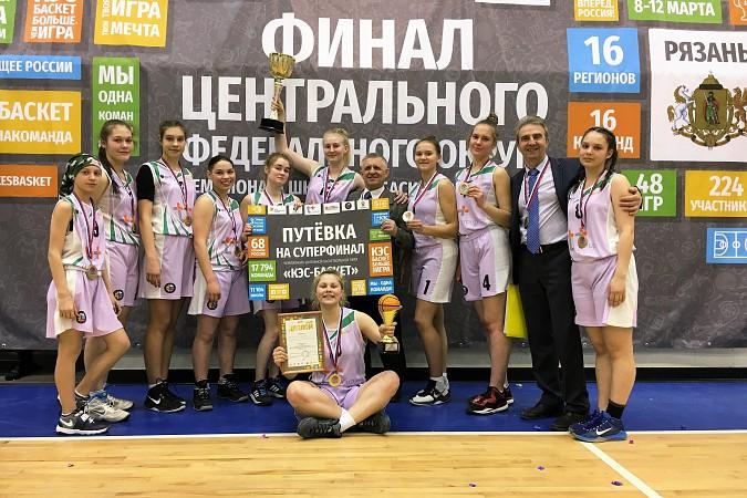 Кинешемские баскетболистки выиграли чемпионат ЦФО «КЭС-Баскет» фото 2