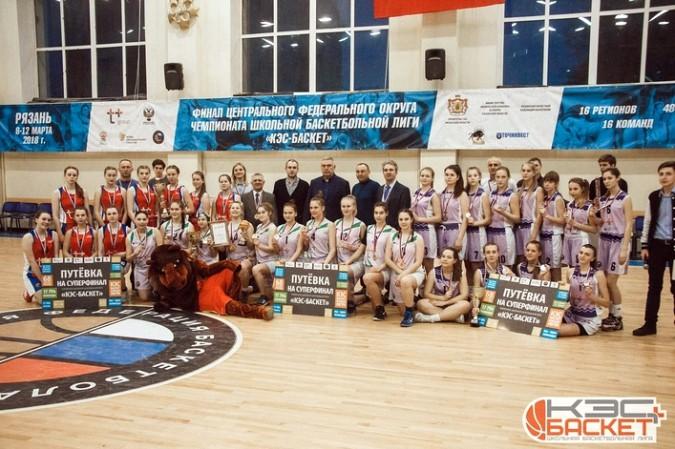 Кинешемские баскетболистки выиграли чемпионат ЦФО «КЭС-Баскет» фото 4