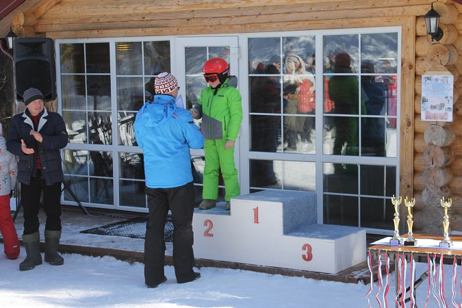 Юные горнолыжники покоряли «Кинешемские Альпы» фото 21