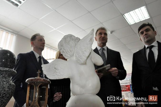 На вице-премьера Игоря Шувалова произвели впечатление Наволоки и резиденты будущего ТОСЭР фото 15