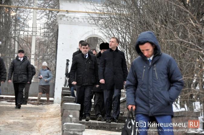 Станислав Воскресенский показал вице-премьеру России Игорю Шувалову Кинешму фото 4