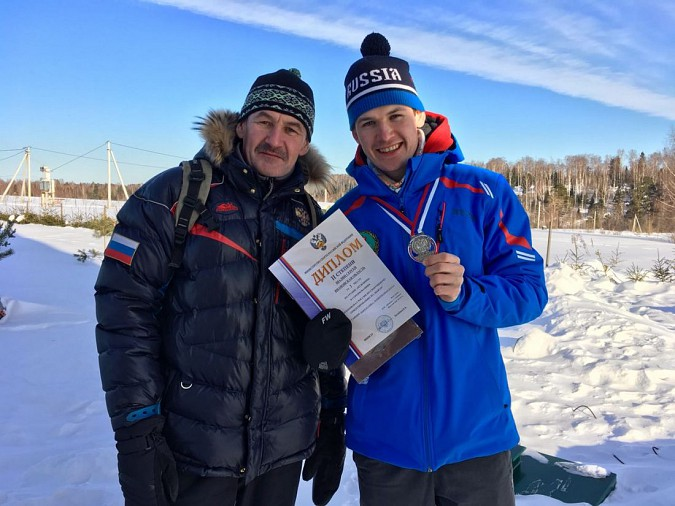 Кинешемец Сергей Шалин стал двукратным серебряным призером Чемпионата России фото 3
