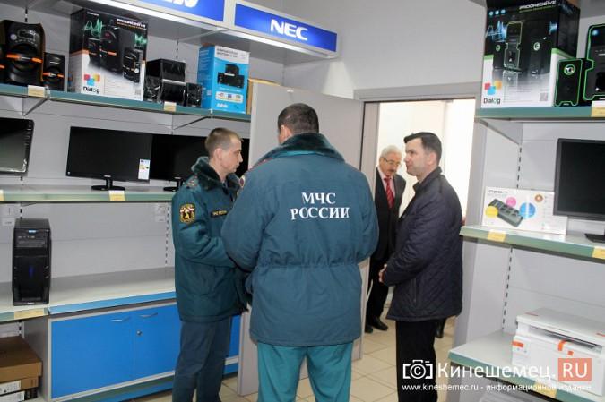 МЧС и прокуратура начали массовую проверку торговых центров Кинешмы фото 3