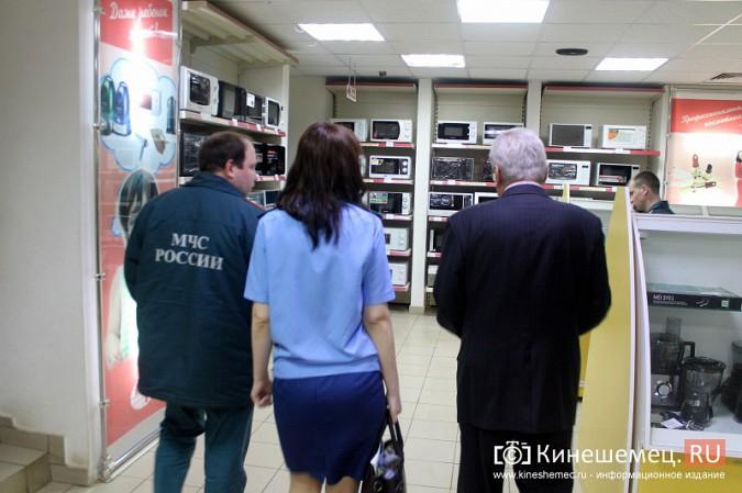 МЧС и прокуратура начали массовую проверку торговых центров Кинешмы фото 15