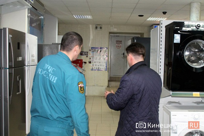 МЧС и прокуратура начали массовую проверку торговых центров Кинешмы фото 26