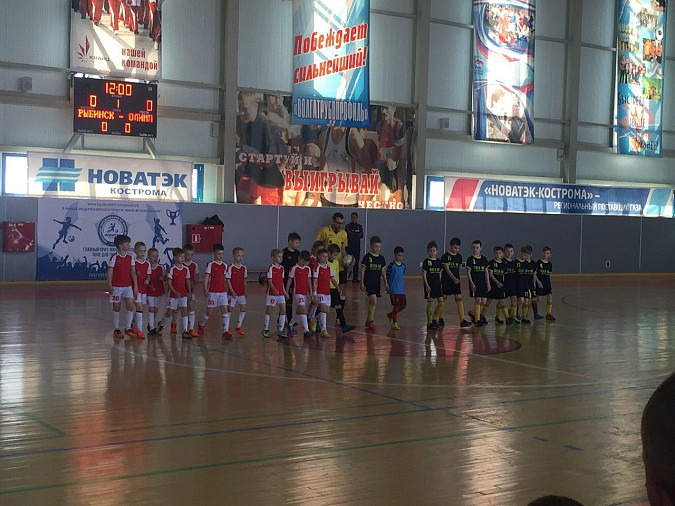 Футболисты «Олимпа» из Кинешемского района сыграли в Волгореченске фото 2