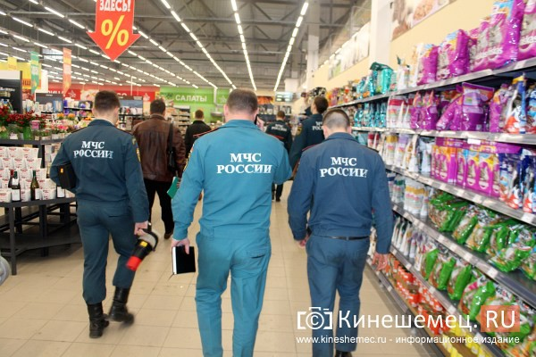 В Кинешме проверяющие пришли в самый крупный торговый центр города фото 53