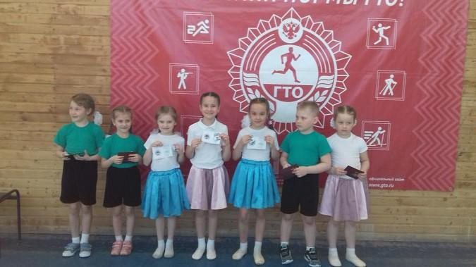 Детсадовцам Кинешмы вручили значки ГТО фото 2