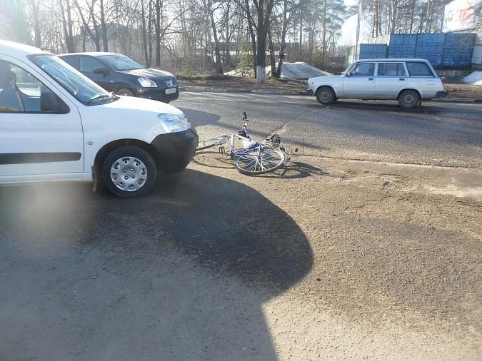 Сбитый на улице Вичугской велосипедист получил перелом руки фото 3