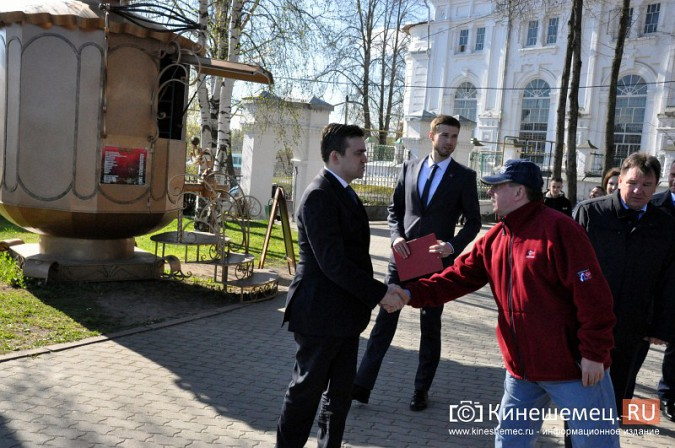 Станислав Воскресенский показал Кинешму Светлане Дрыге фото 21