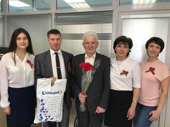 Поздравление ветеранов в Иванове