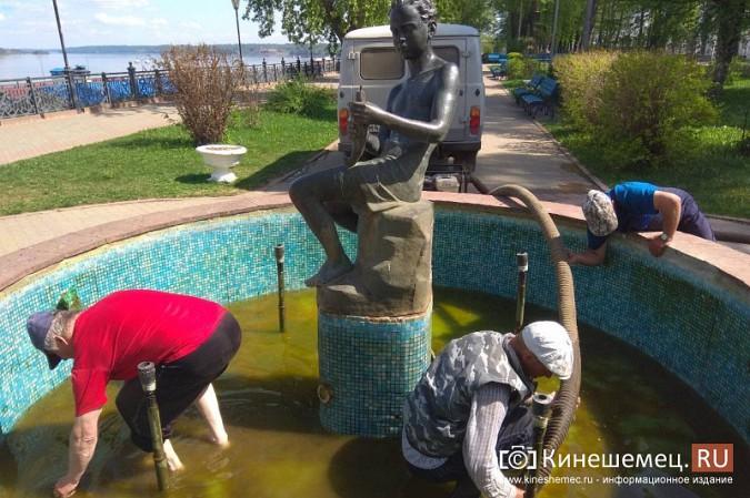 «Мальчик с рыбкой» превратился в водопой для кинешемских голубей фото 10