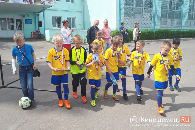 Футболисты юношеского «Волжанина» лучшие в Первенстве Кинешмы фото 6