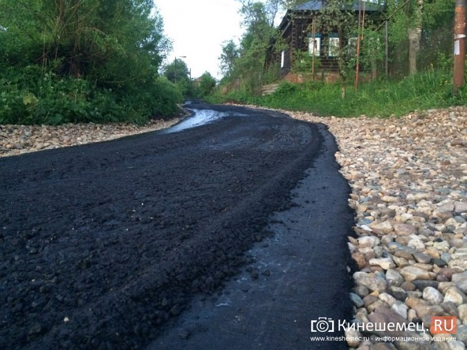В Наволоках ремонтируют разбитые дороги фото 5
