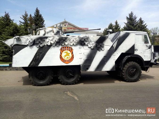 Житель Кинешмы побывал на военном параде в Донецкой республике фото 10