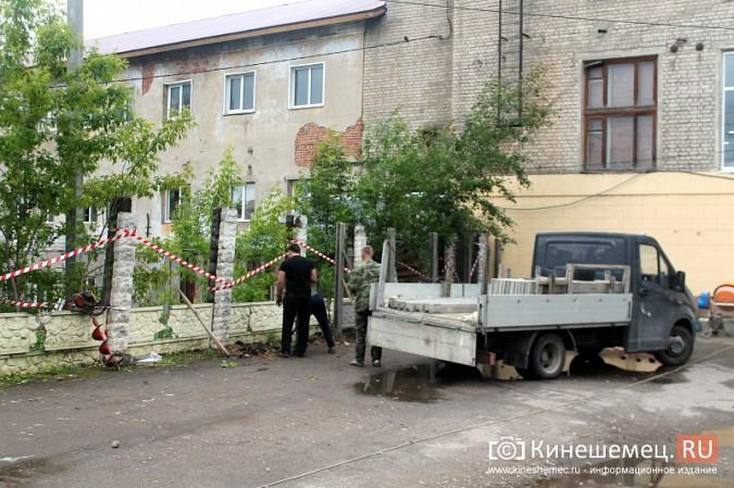 Спустя два года в центре Кинешмы построят новый забор фото 11